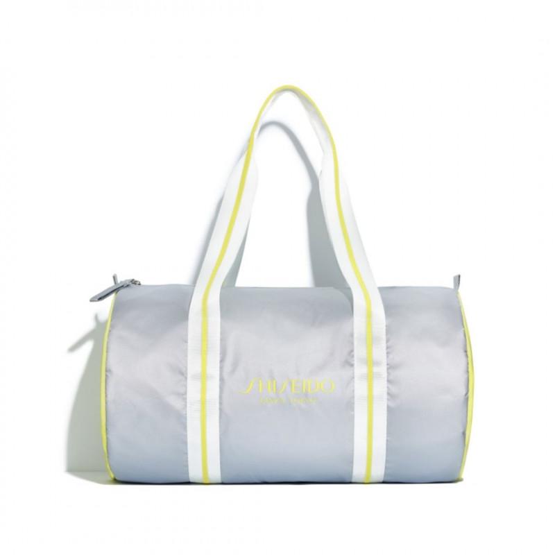SHISEIDO SILVER BAG